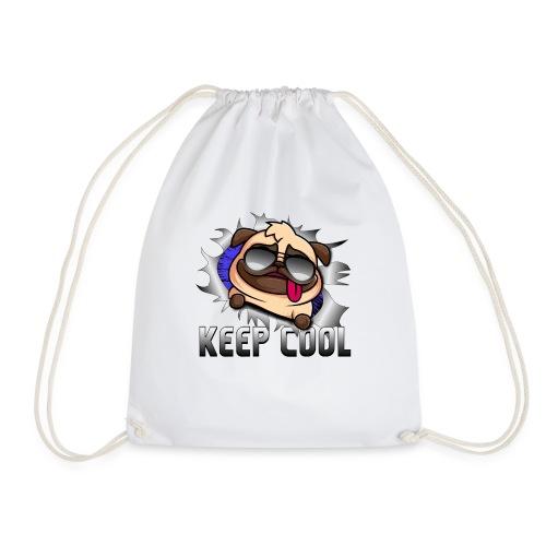 Keep Cool Hund Geschenk - Turnbeutel