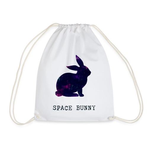 Space Bunny - Drawstring Bag