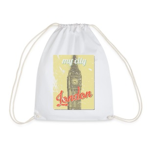 MY CITY London - Drawstring Bag