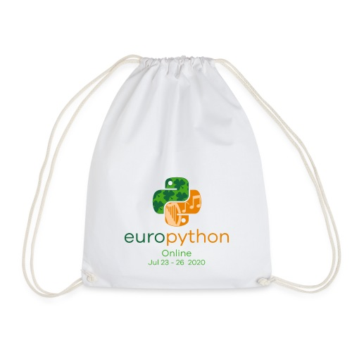 EuroPython 2020 - Vertical Color Logo - Drawstring Bag