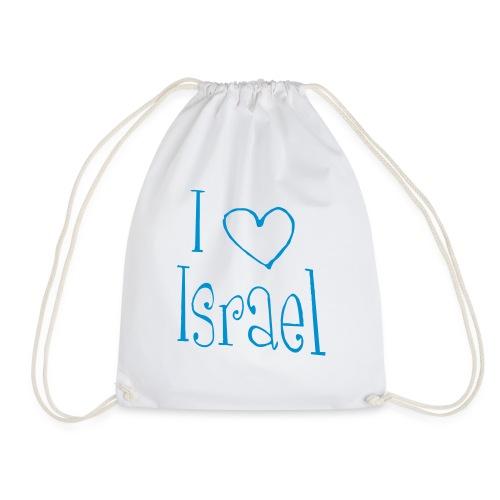 I love Israel - Turnbeutel