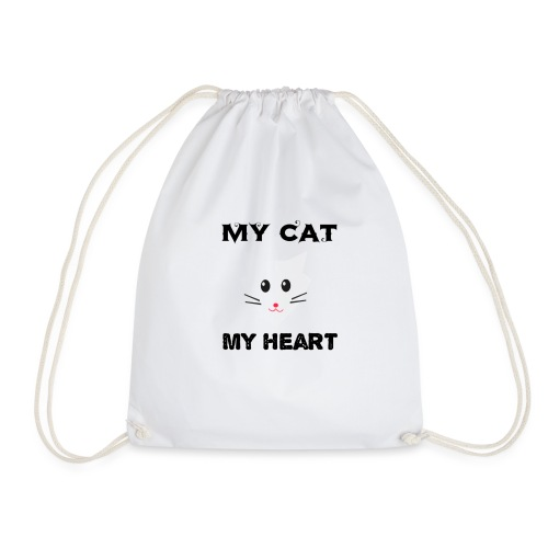 my cat my heart - Sac de sport léger