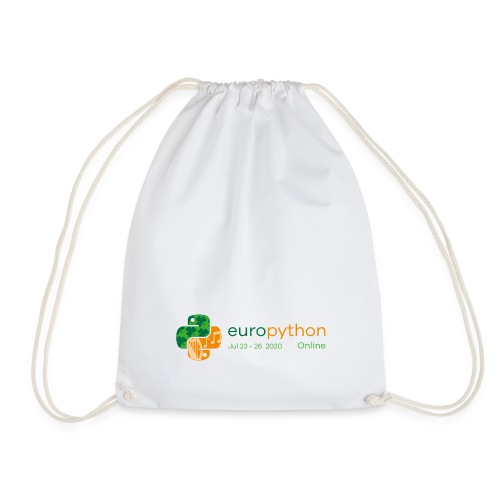EuroPython 2020 - Color Logo - Drawstring Bag