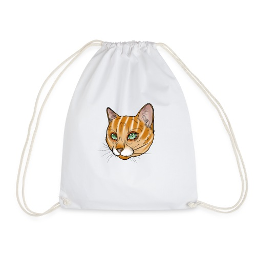 Tiger Katze - Turnbeutel