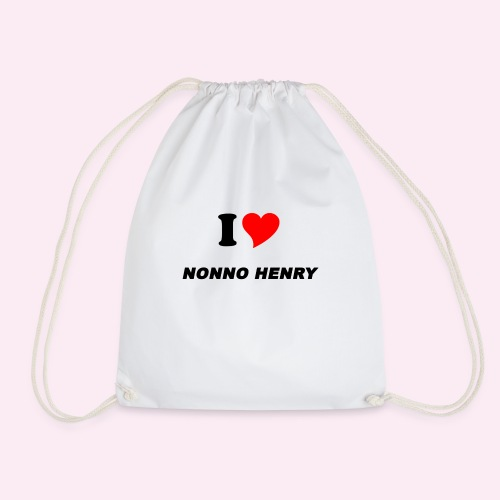 ILOVEHENRY-BAMBINI 9-14 ANNI - Drawstring Bag