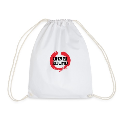 UNAGI SOUND LOGO - Drawstring Bag