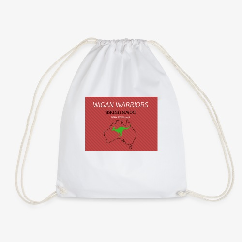 WARRIORS DOWN UNDER - Drawstring Bag
