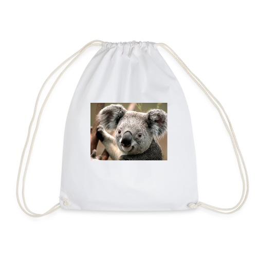 panda squad - Drawstring Bag
