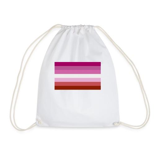 Lesbian pride - Drawstring Bag
