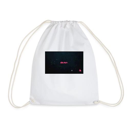 Ellis plays design merchandise - Drawstring Bag