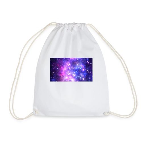 galaxy world - Drawstring Bag