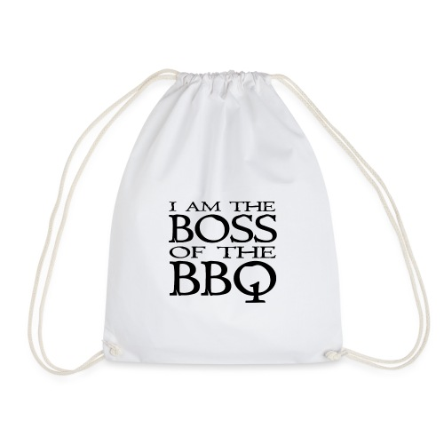 I am the Boss of the BBQ - der Chef am Grill - Turnbeutel