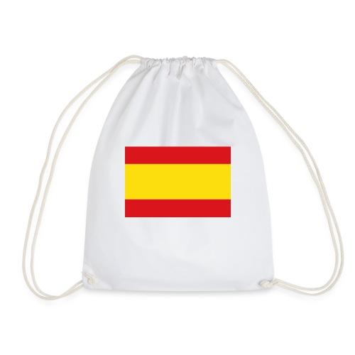 vlag van spanje - Gymtas