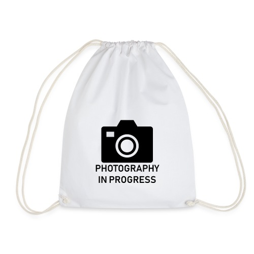 Photography In Progress - Drawstring Bag