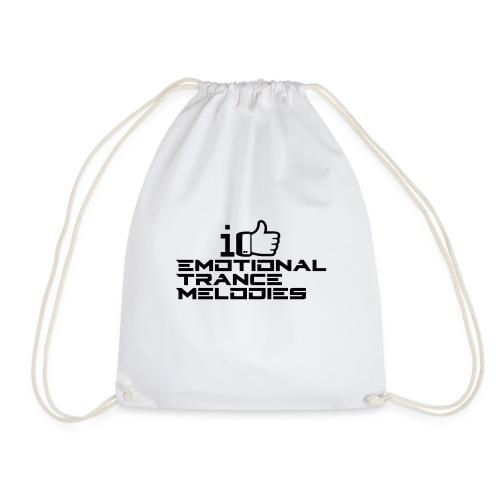 i like emotional trance melodies - Sacca sportiva