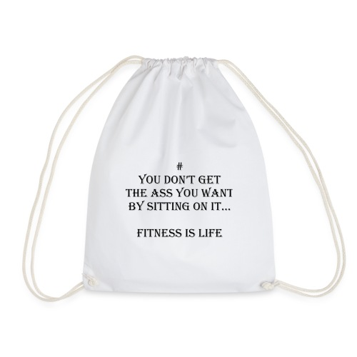 Fitness Motivation by Fitness is Life - Turnbeutel