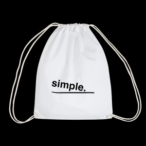simple. - Turnbeutel