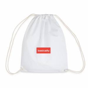 Basically merch - Drawstring Bag