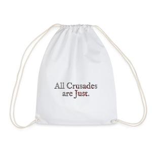 All Crusades Are Just. Alt.2 - Drawstring Bag