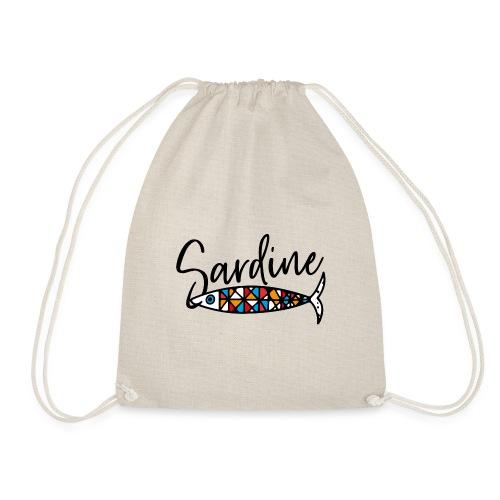 Sardine colorate all'amo - Sacca sportiva