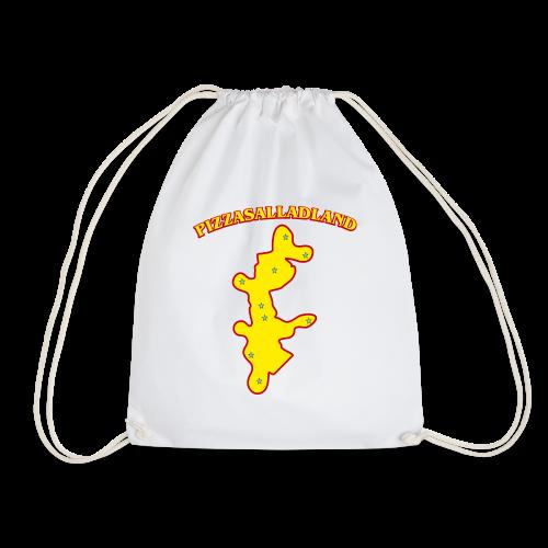 T-shirt, Pizzasalladland - Gymnastikpåse