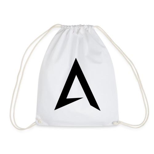 alpharock A logo - Drawstring Bag