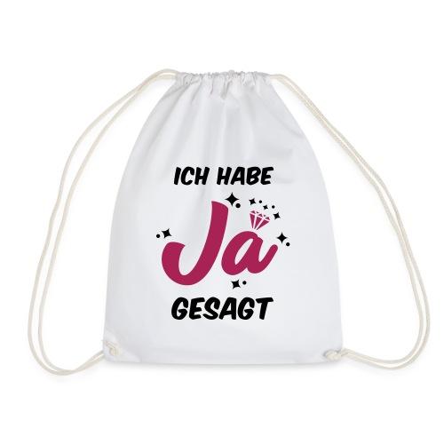 Ich habe JA gesagt - JGA T-Shirt - JGA Shirt - Turnbeutel