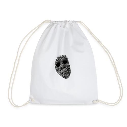 Paranormal Forensics Logo - Drawstring Bag