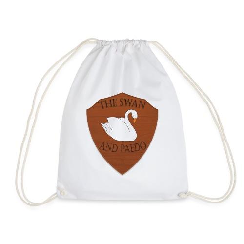 The Swan and Peado Pub - Drawstring Bag