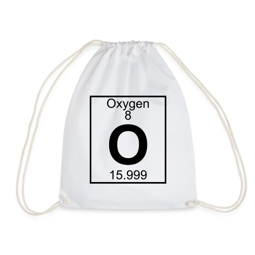 Oxygen (O) (element 8) - Drawstring Bag