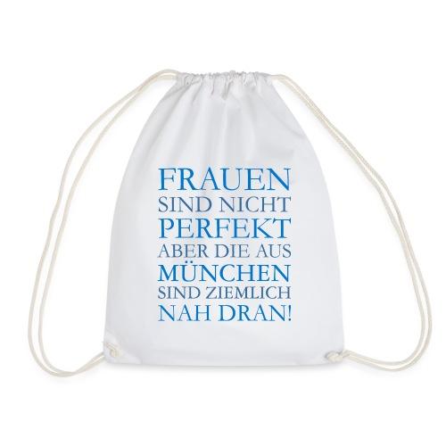 Frauen aus München (Blau) - Turnbeutel