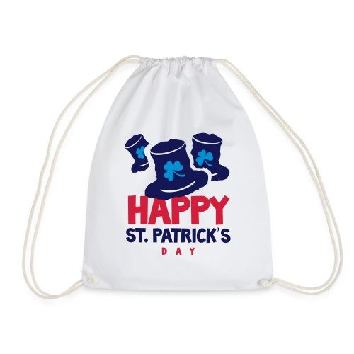 Happy St. Patrick's Bay - Drawstring Bag