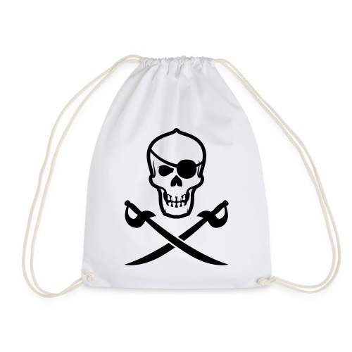 Totenkopf Pirat - Turnbeutel