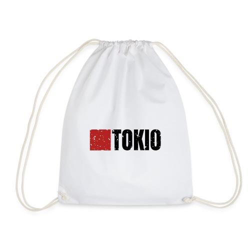00160 Casa Papel Tokio negro - Mochila saco
