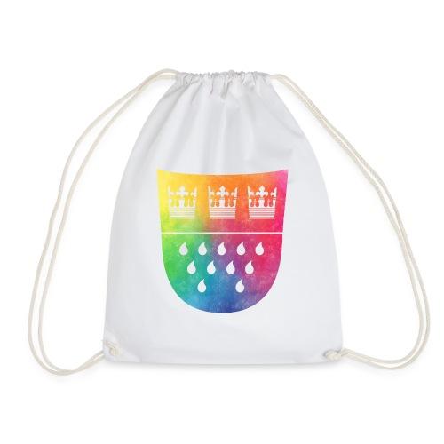 Kölner Wappen Rainbow - Turnbeutel