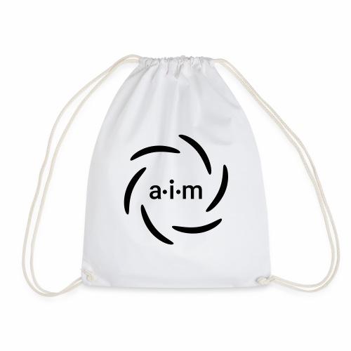 AIM Logo - Turnbeutel