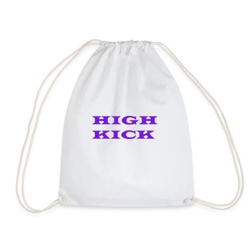HIGH KICK HOODIE [LIMITED EDITION] - Drawstring Bag
