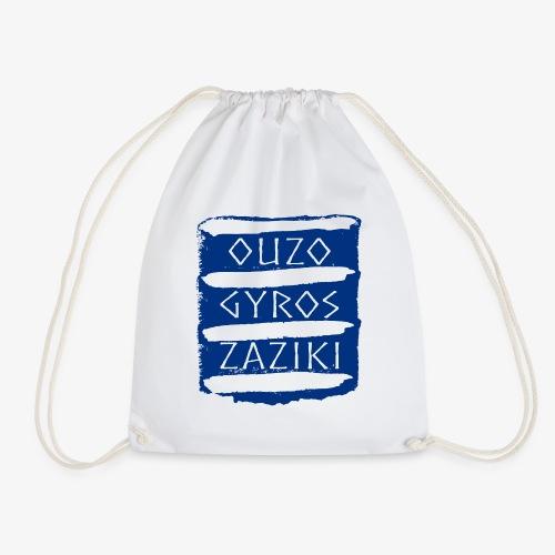 Ouzo Gyros Zaziki - Turnbeutel