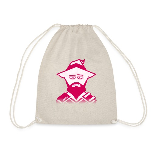 uzalu the Wizard - Drawstring Bag