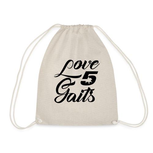 Love 5Gaits - Drawstring Bag