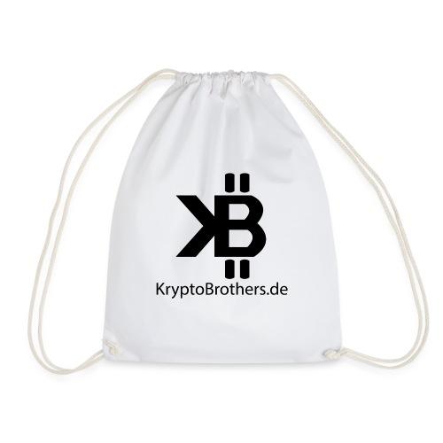 KryptoBrothers Black - Turnbeutel