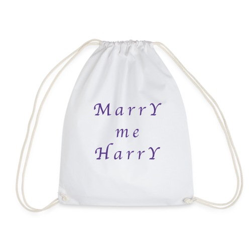 Marry me Harry (violet) - Sac de sport léger
