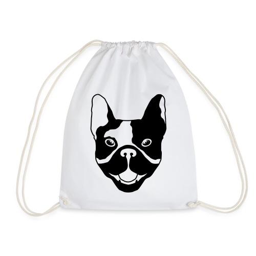 French bulldog - Drawstring Bag