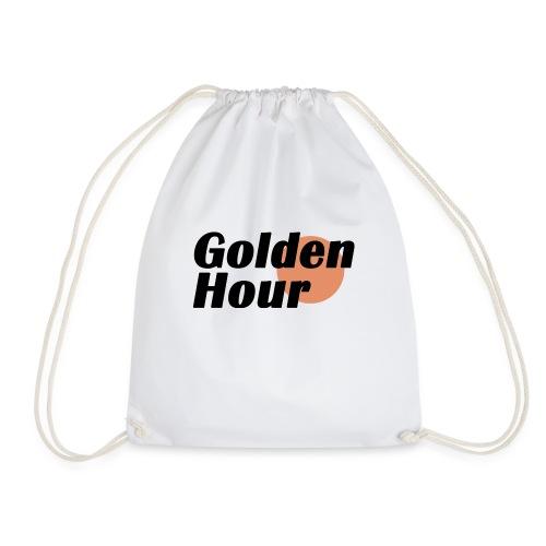 Golden Hour logo - Drawstring Bag