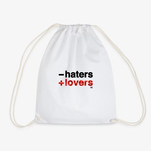 -haters +lovers (edición corazones) - Mochila saco