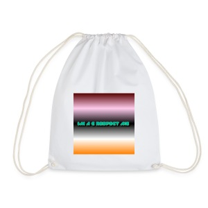IM A G RESPECT ME MERCH - Drawstring Bag