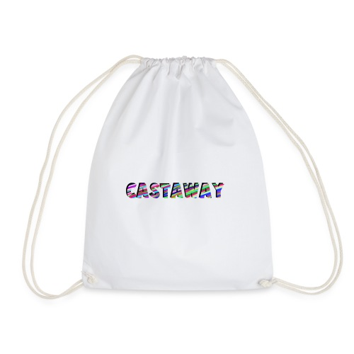 Castaway Waves - Drawstring Bag
