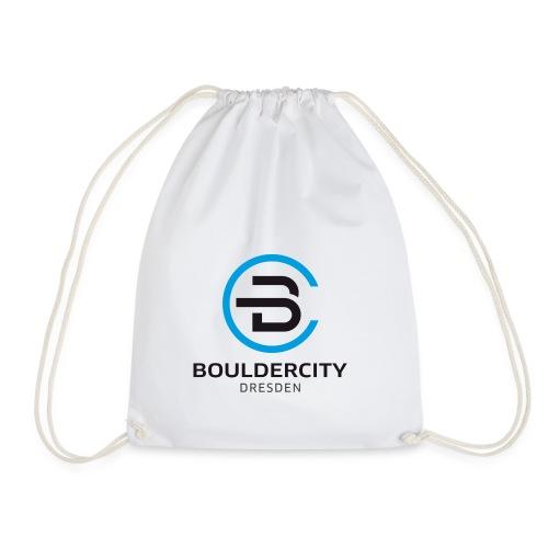 Bouldercity Dresden Blau Schwarz - Turnbeutel