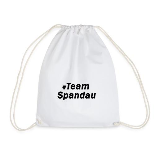 #TeamSpandau (schwarz) - Turnbeutel