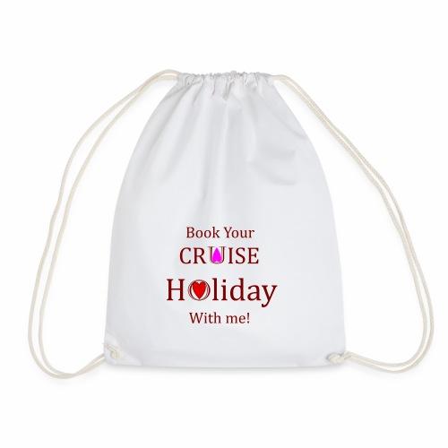 Book your Holiday 1 - Drawstring Bag